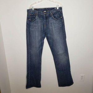 Lucky Brand Long Inseam Slim Bootleg Jeans Blue